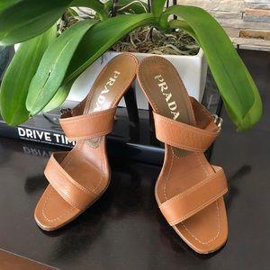 Auth Prada Sandals